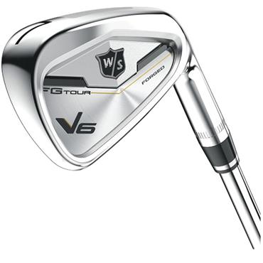 Wilson FG Tour V6 Forged 7 Steel Irons 4-PW Gents RH